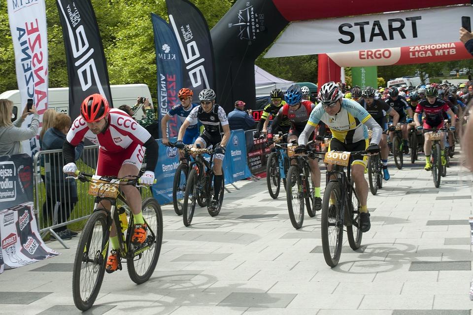 Mountain Terrain Bike, Mtb, Start, Bike, Terrain