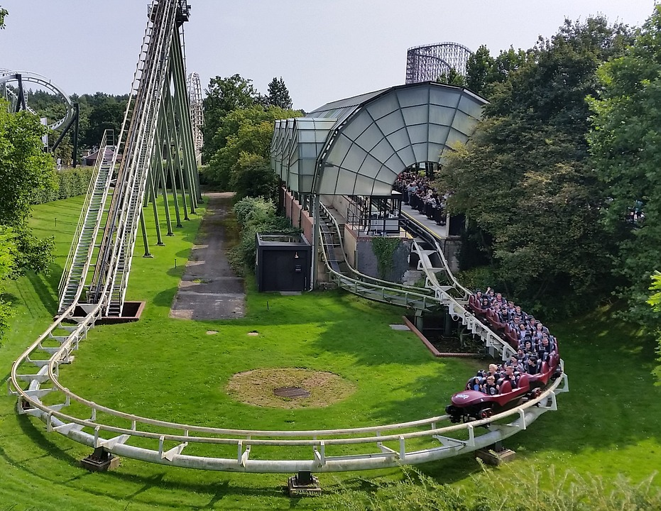 Free Photo Start Roller Coaster Big Loop Heide Park Round Max Pixel