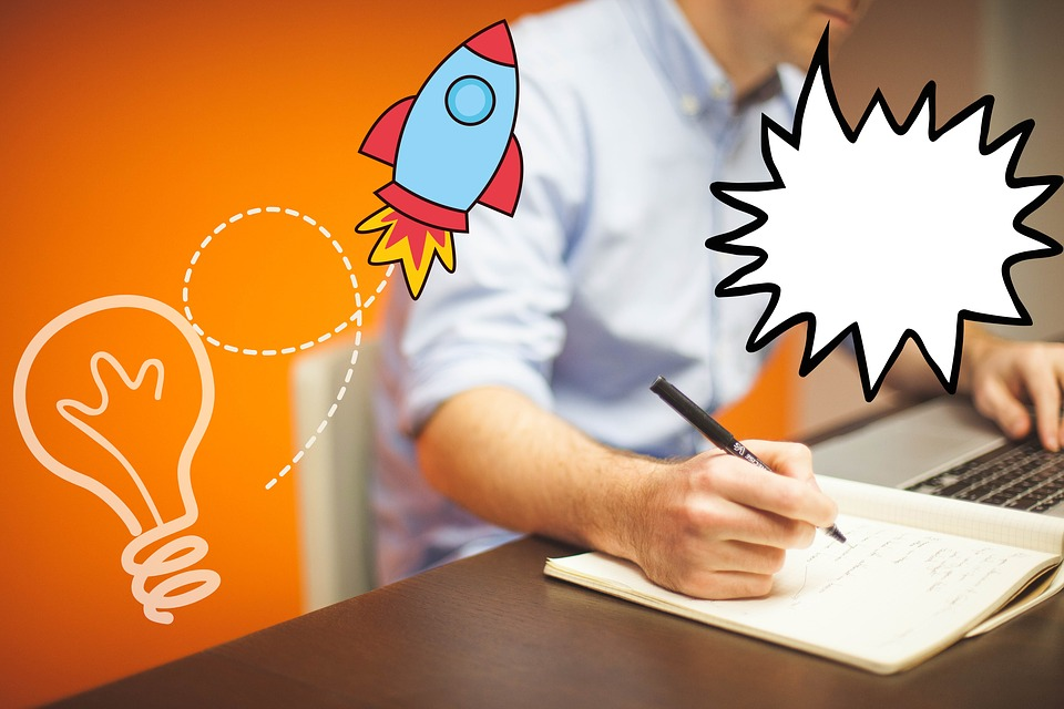 Office, Home Office, Online Marketing, Idea, Startup