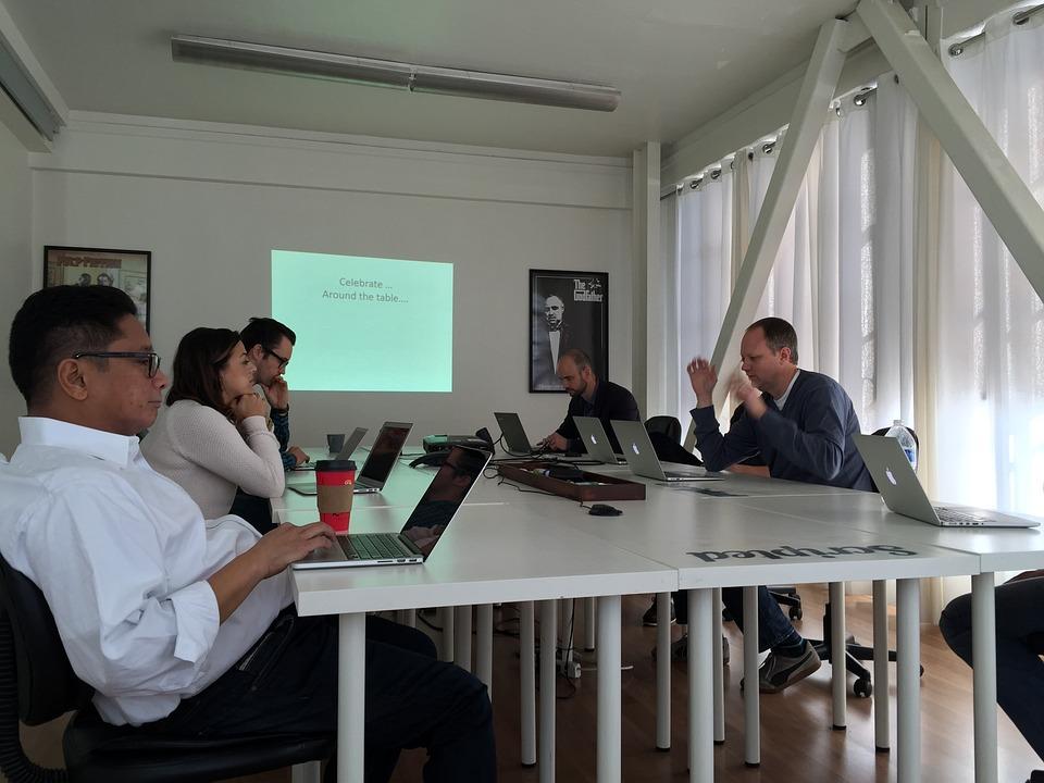 Office, Presentation, Working, Laptop, Startup