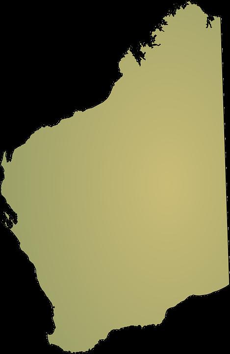 Western Australia, Map, Australia, State