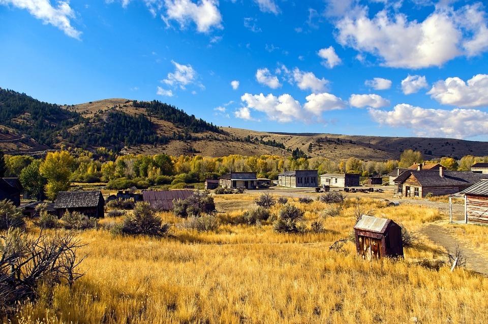 Bannack Town Site, Bannack, State, Park, Montana