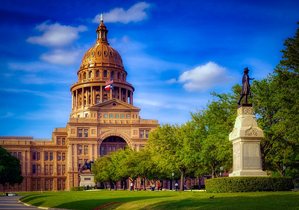 Texas, State Capitol, Austin, Monument, Dome