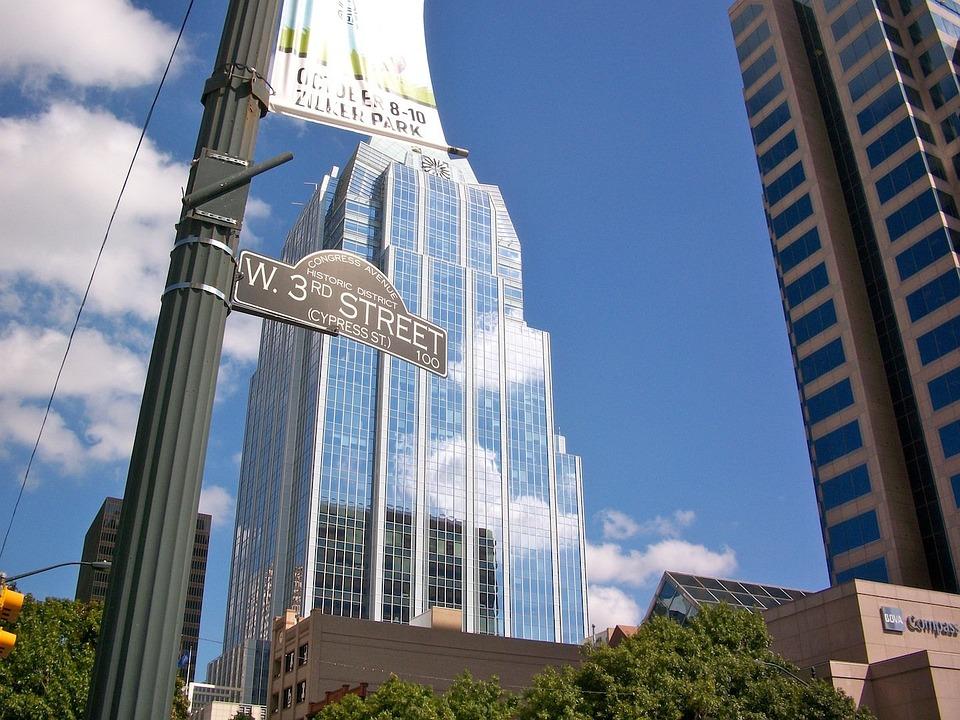 Austin, Skyscraper, Texas, Downtown, State, Capital