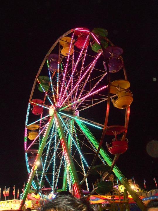 Ferris Wheel, Carnival, Fair, State Fair