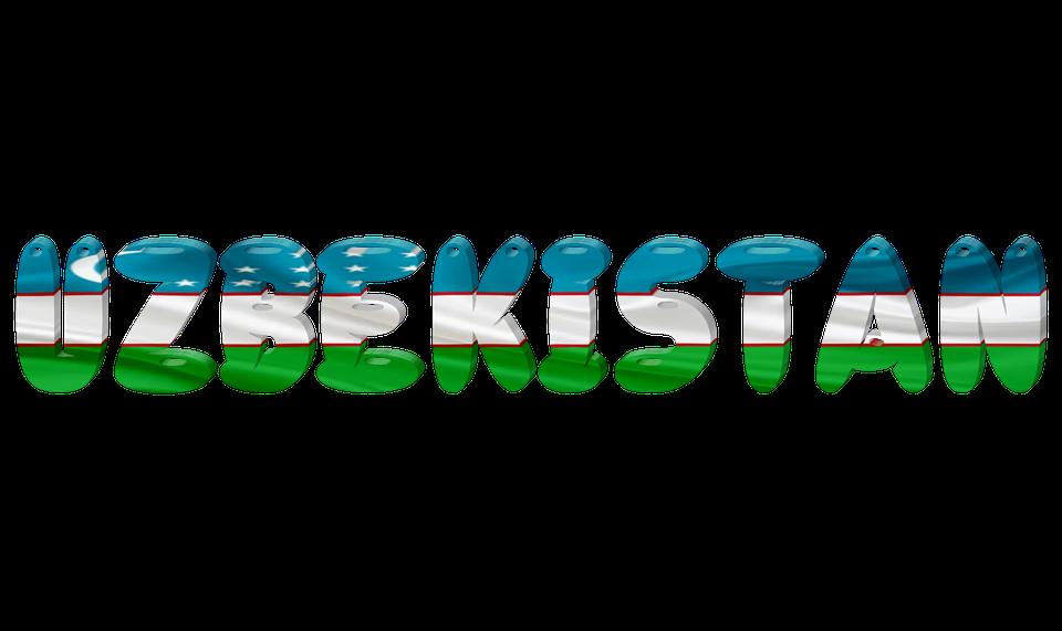 State, International, Flag, Creative, Uzbekistan