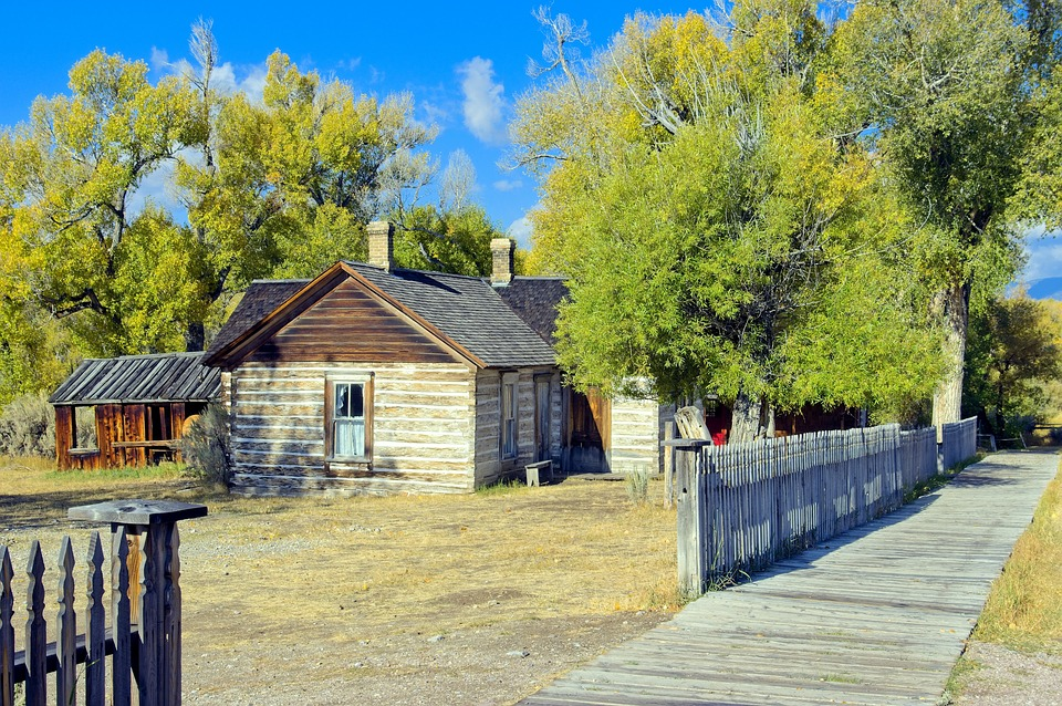 Doc Ryburns House, Bannack, State, Park, Ghost, Town