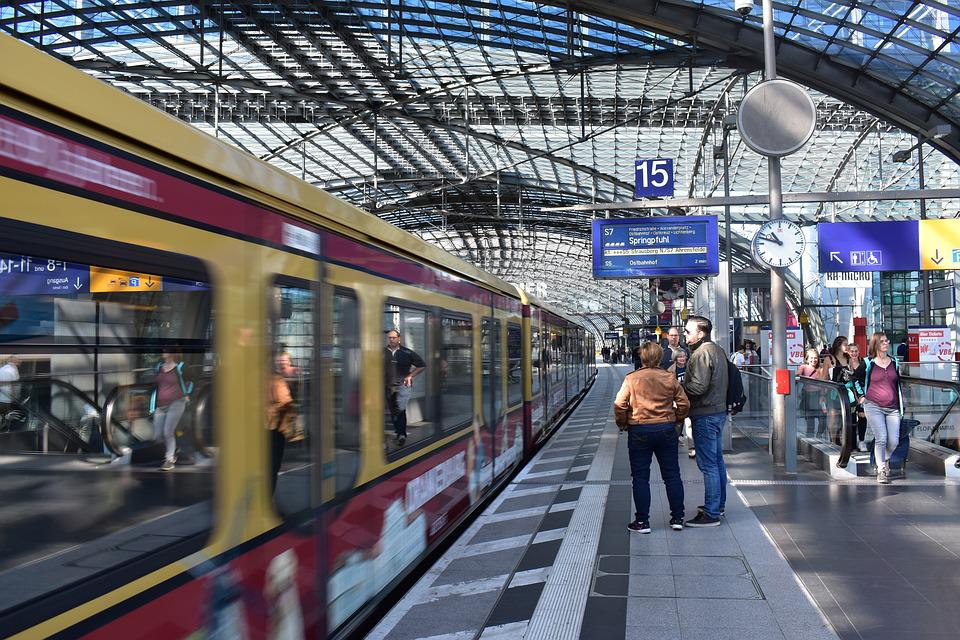 Berlin, Station, Train Station, Germany, Capital