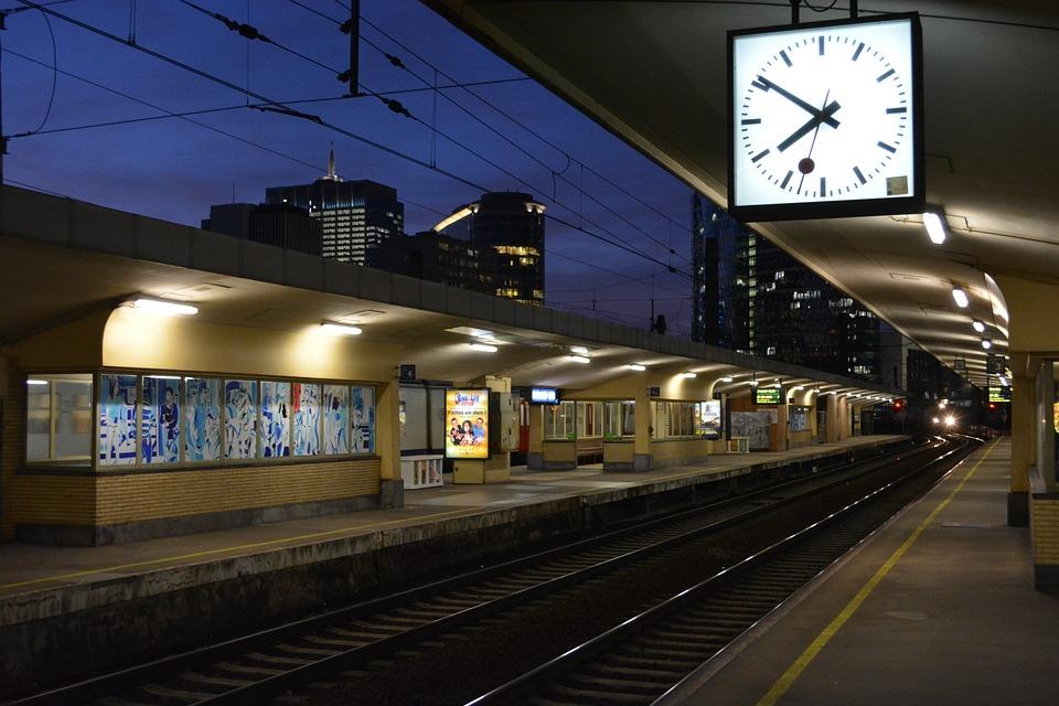 Train, Station, Transport, Railway, Rails, Train Track