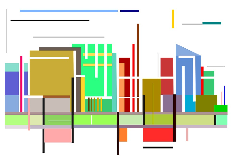 Business, Finance, Statistics, Graphic, Skyscrapers