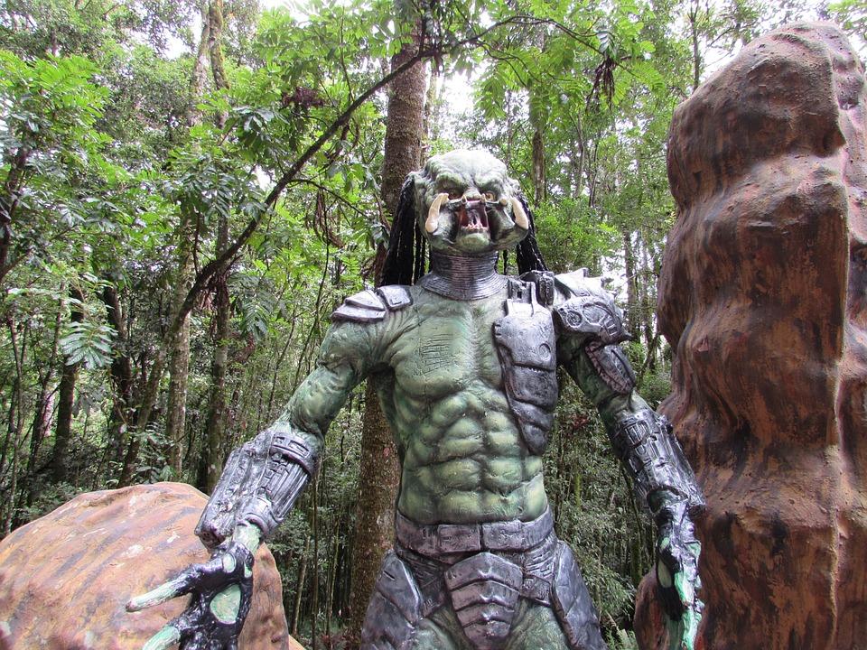 Predator, Monster, Terror, Horror, Alien, Statue