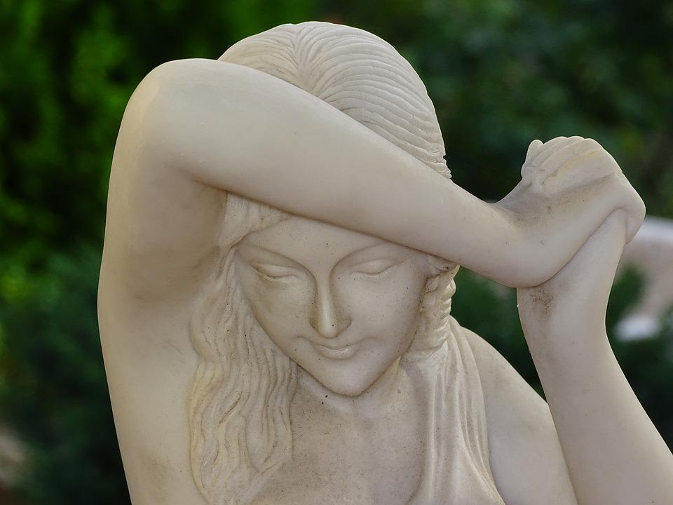 Statue, Sculpture, Figure, Woman, Girl, Decoration, Art