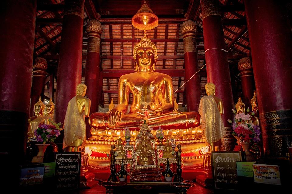 Buddhism, Buddha, Statue, Asia, Religion, Thailand