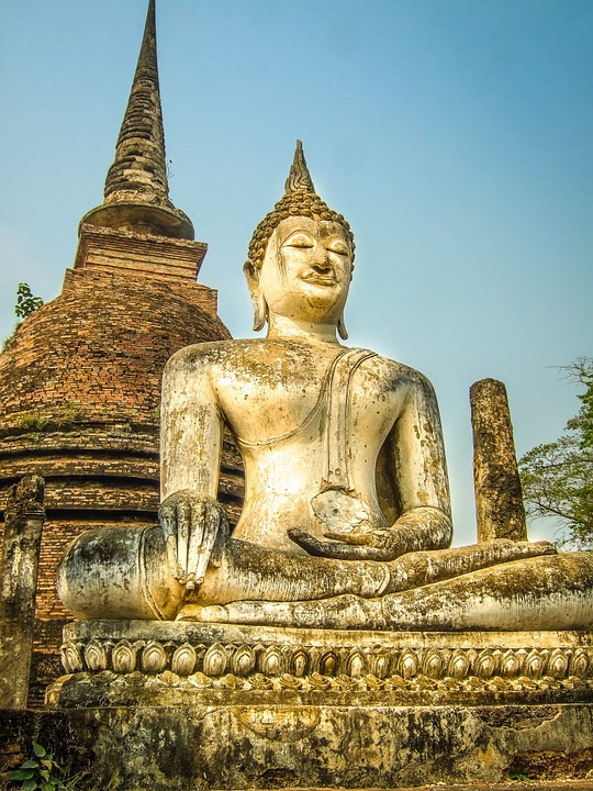 Thailand, Buddha, Statue, Temple, Meditate, Meditation