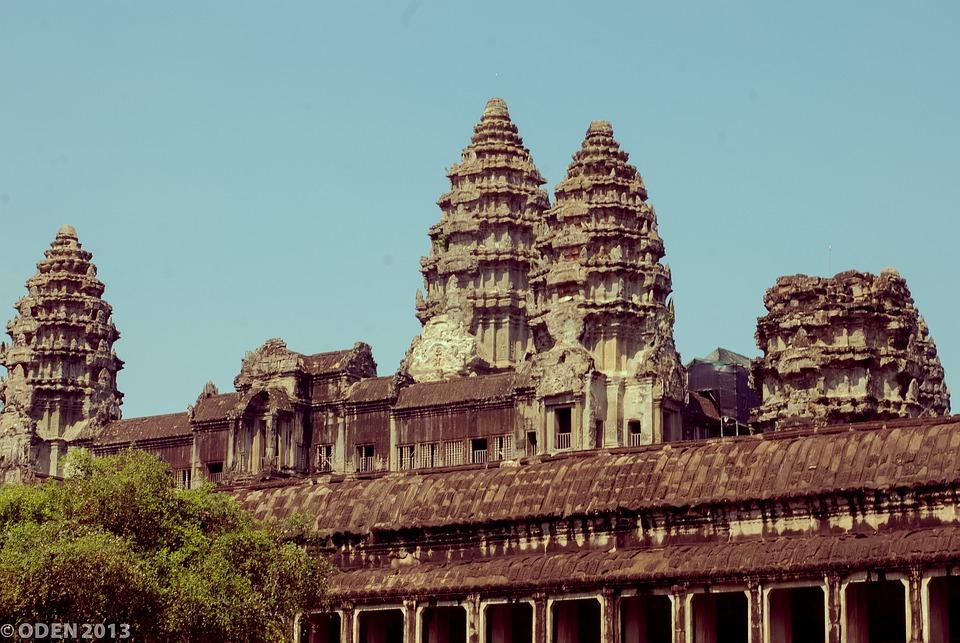 Angkor Wat, Siem Reap, Cambodia, Statue, Smile, Nice