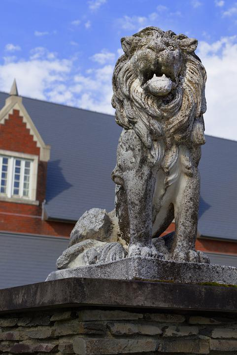 Statue, Lion, Sculpture, Stone Statue, Figure, Carving