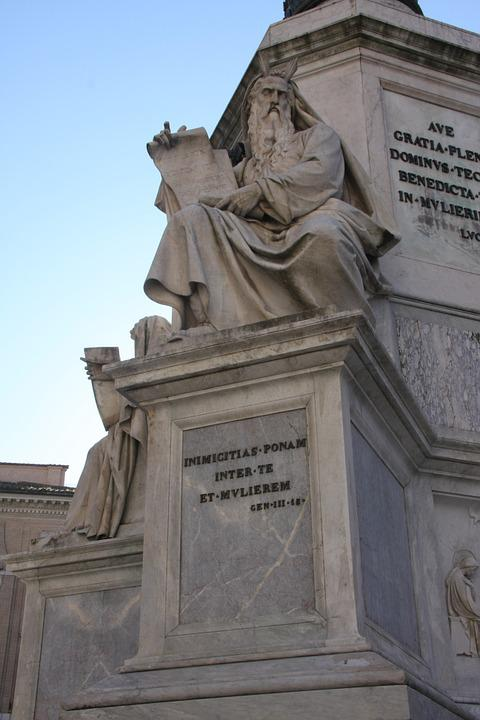 Statue, Rome, Close To Spanish Steps