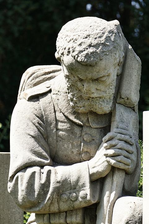 War, Statue, Soldier, Favor, Commemorate, Sculpture