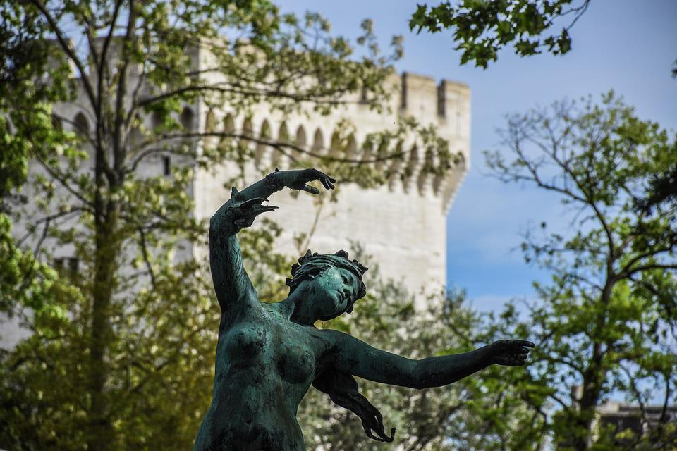 Statue, Female, Figurine, Sculpture, Dancer, Pagan