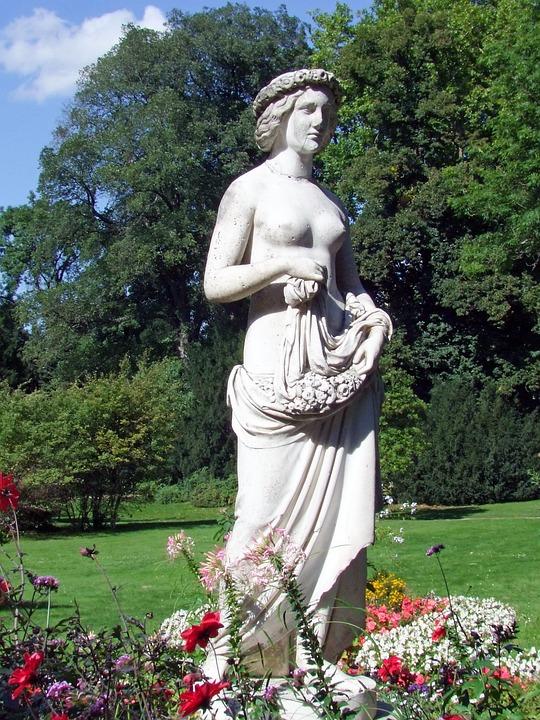 Sculpture, Statue, Fig, Park Sanssouci, Potsdam