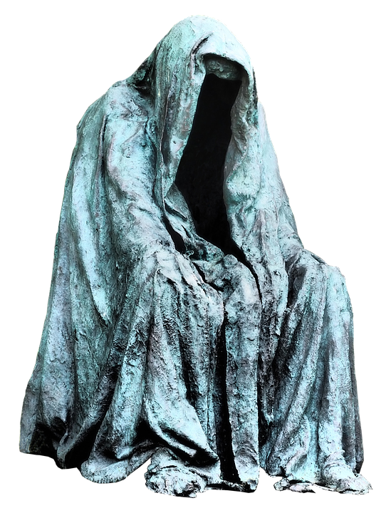 Spirit, Statue, Bronze, Sculpture, Figure, Rest, Art