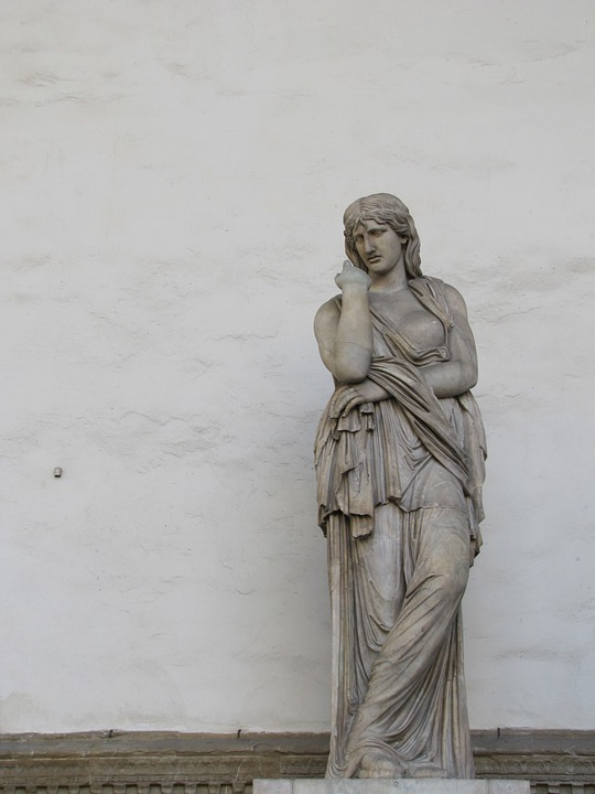 Statue, Florence, Woman