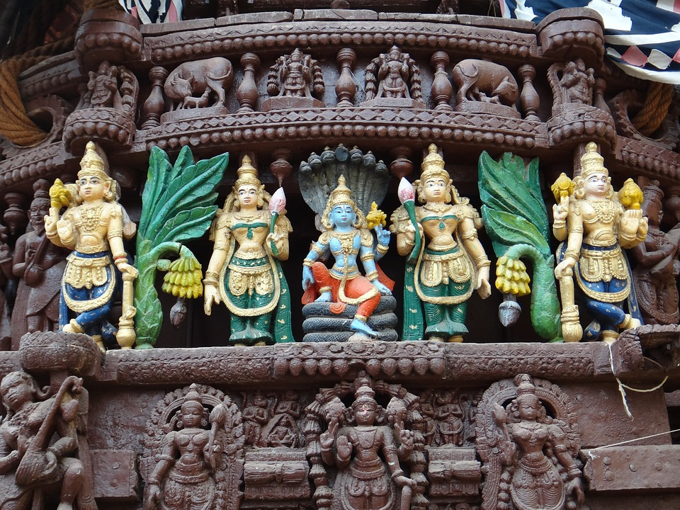 India, Temple, Hinduism, God, Statue, Figure