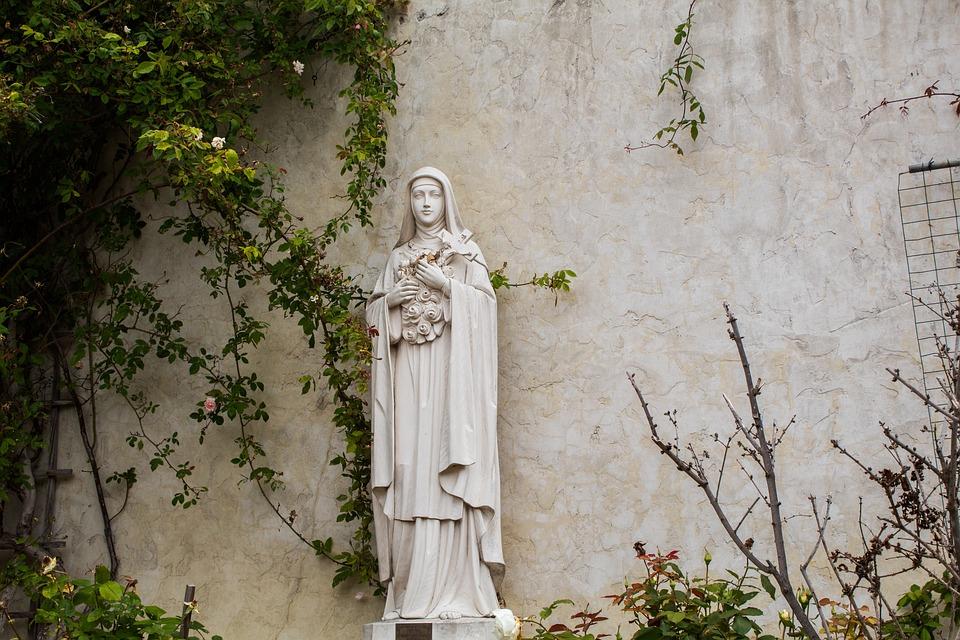 Holy, Ornamental Trees, Statue