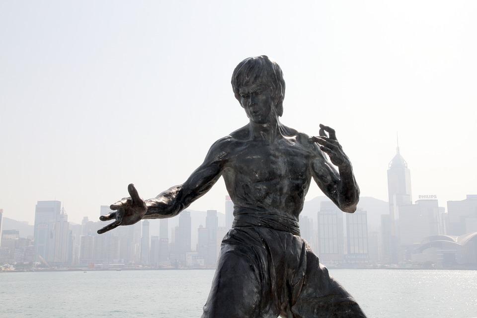 Bruce Lee, Statue, Monument, Hong Kong, Hong, Kong