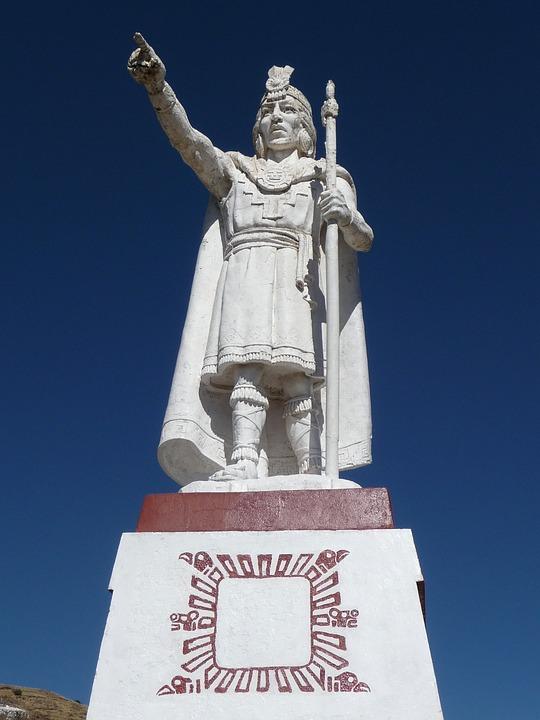 Statue, Inca, Puno