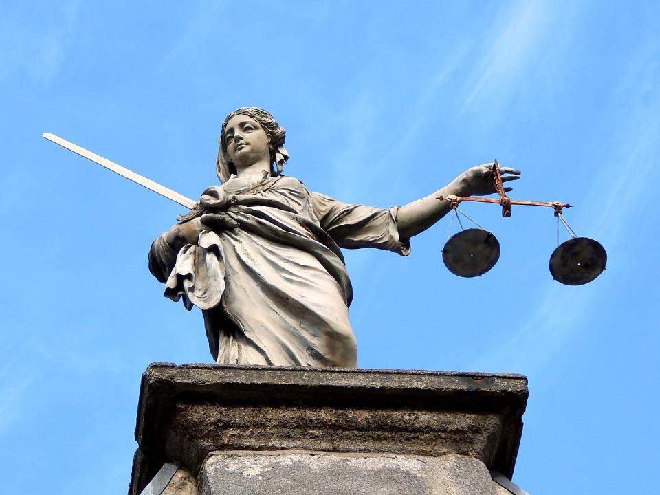 Justice, Statue, Dublin, Ireland, Goddess
