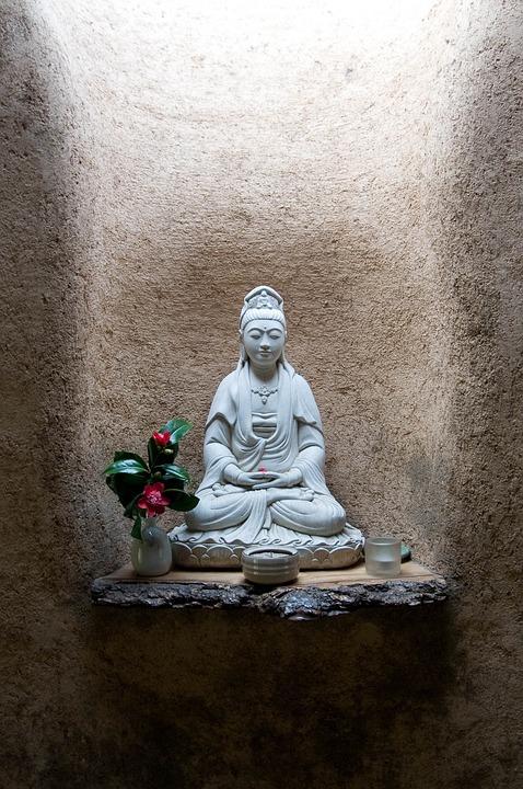 Zen, Meditation, Statue