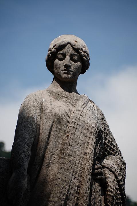 Statue, Monaco, Antique, Figure, Statues, Melancholy