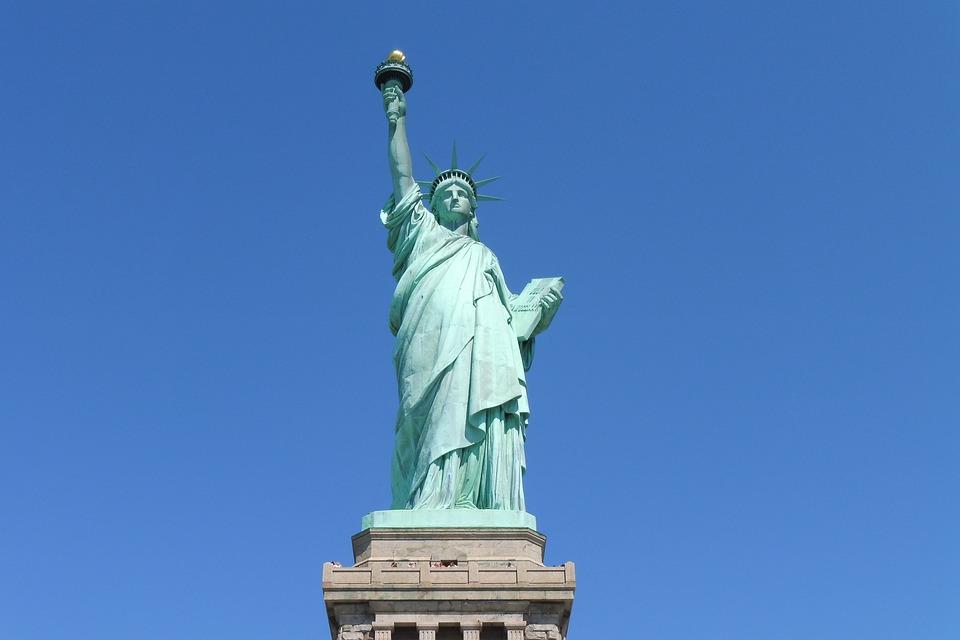 Statue, Liberty, Usa, America, Monument, Freedom, Money