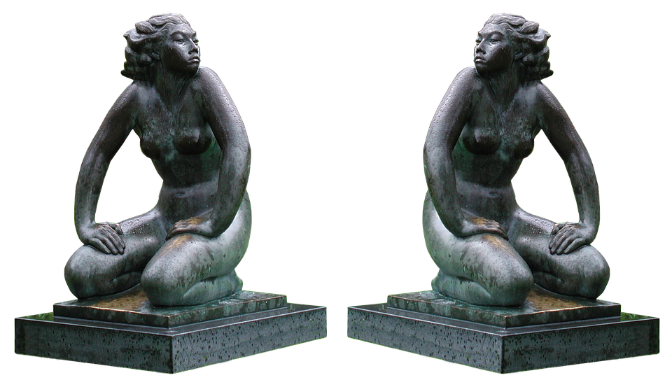 Statue, Marble, Woman, Naked, Sculpture, Art, Monument