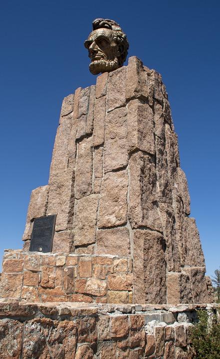 Lincoln, Statue, President, Monument, Usa, Landmark