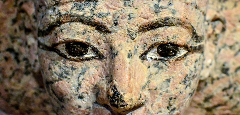 Sculpture, Statue, Art, Face, Ancient, Egyptian, Museum