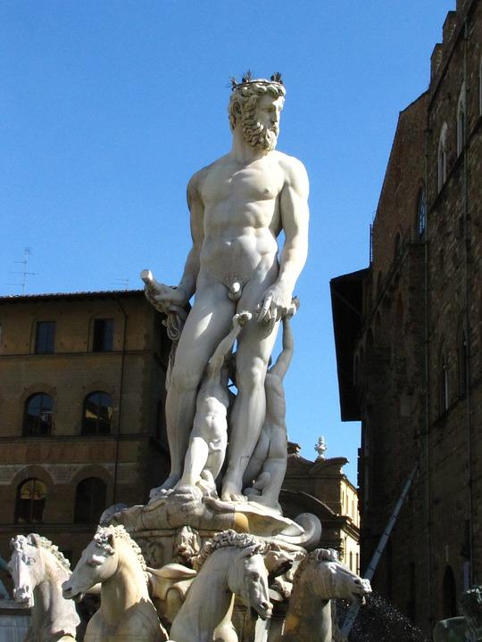 Bartolomeo Ammannati, Statue, Neptune Fountain