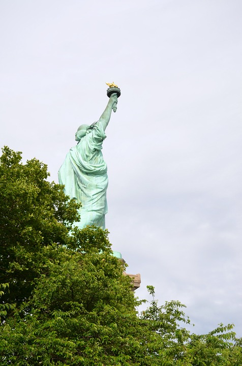 Statue Of Liberty, Freedom, July 4th, Independence