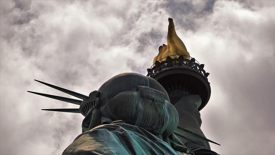 Statue Of Liberty, Landmark, Sculpture, Neoclassical