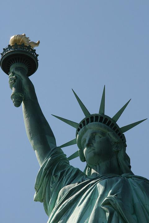 Statue Of Liberty, National Monument, Monument, Statue