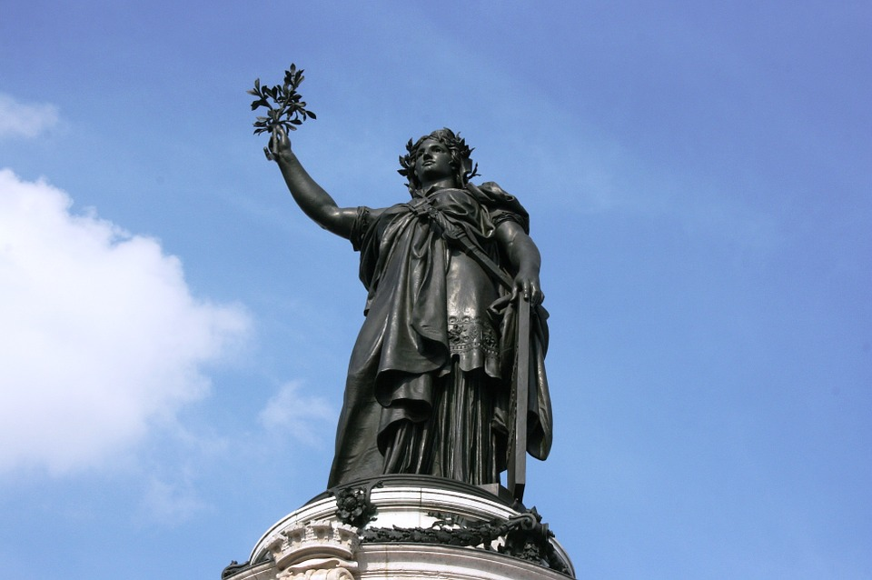 Statue, Reúplica, Paris