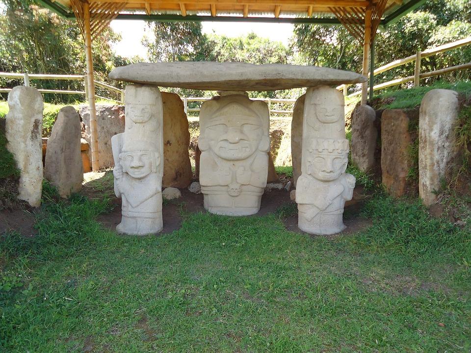 Archaeological, Indigenous, Statue, Park
