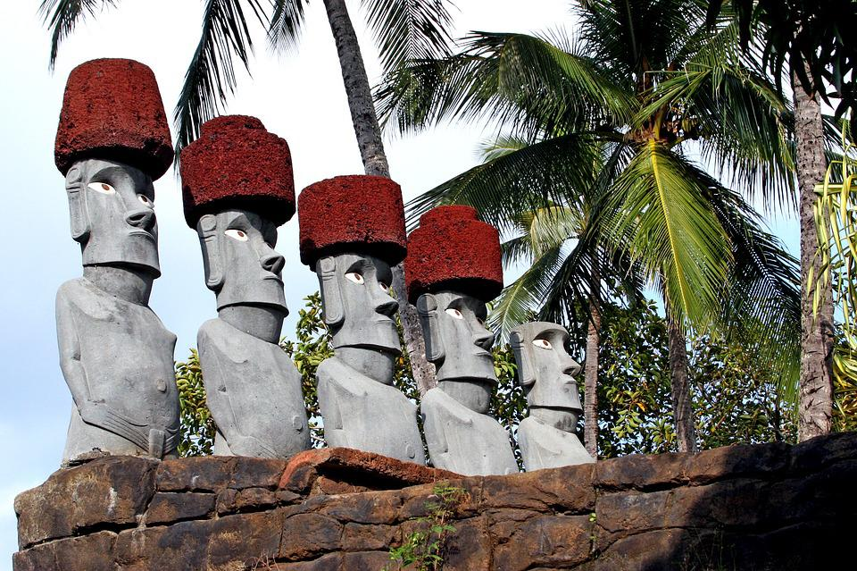 Hawaii, Statue, Oahu, Polynesian Cultural Center