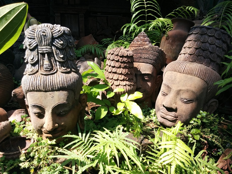 Terracotta, Thailand, Statue, Clay, Pottery, Thai