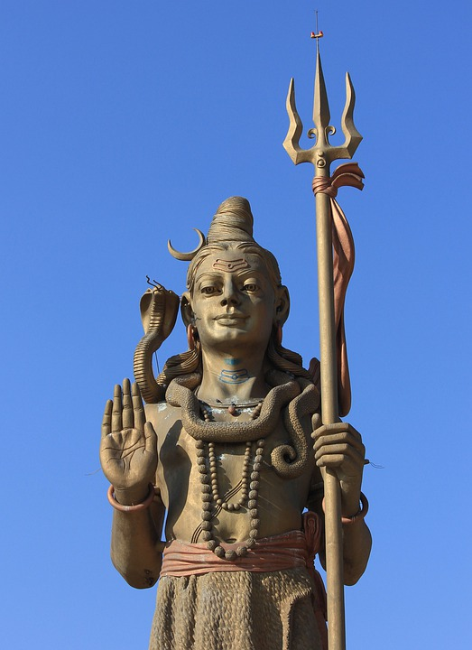 Shiva, Religious, India, Statue, Metal, Hindu, Hinduism