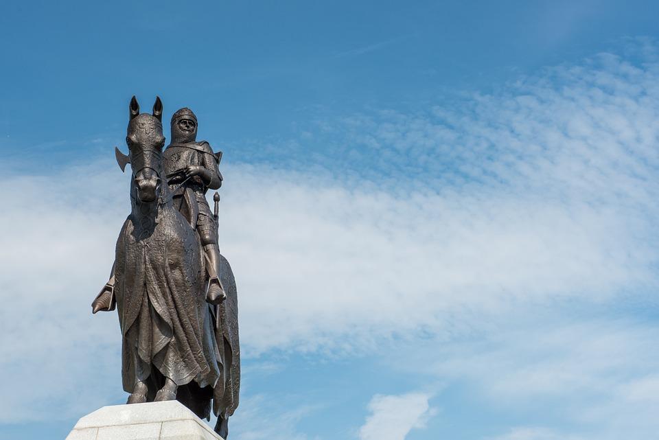 Robert The Bruce King Of Scots, Statue, Scotland
