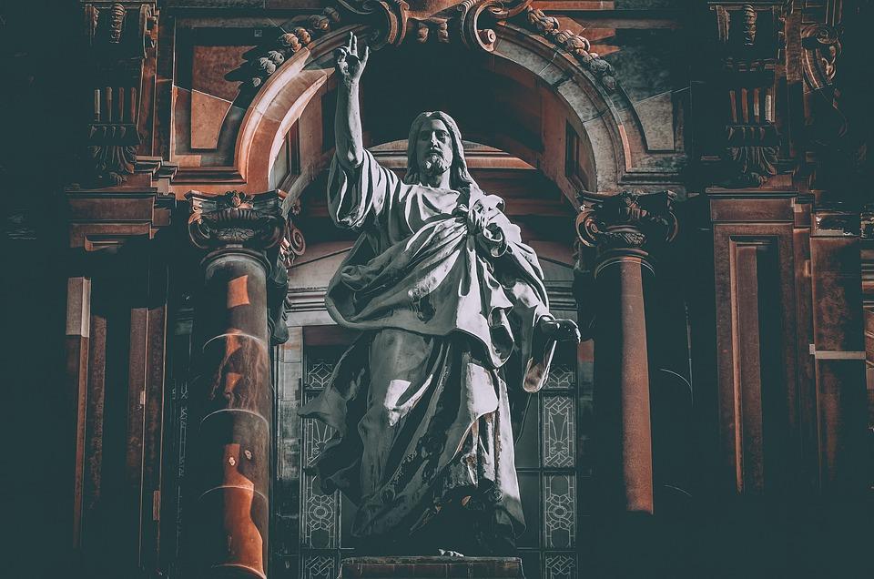 Berlin Cathedral, Sculpture, Jesus Christ, Statue