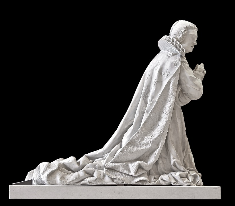 Statue, Sculpture, Pray
