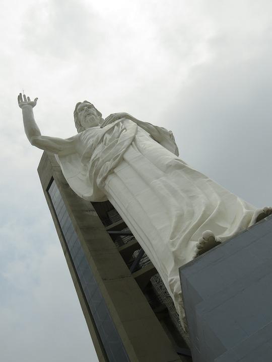 Monument, Sculpture, Statue, Holy Christ, Santander